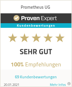 Customer experience with Prometheus Webdesign Germany
